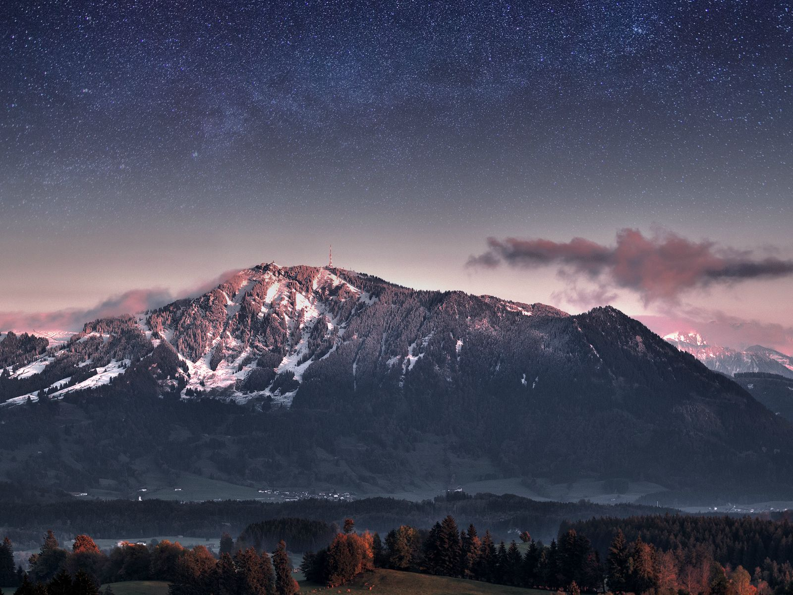 Germany Beautiful Night Sky