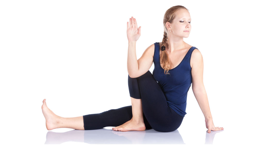 Twisted-Pose-Vakrasana