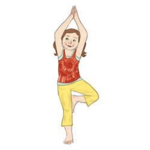 This Pose Will Help Your Child With Their Balance And Strengthen The Bones While Also Boosting Self Esteem